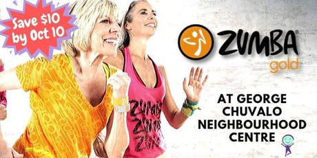 Zumba Gold - $12 drop in @ George Chuvalo N. C. tickets