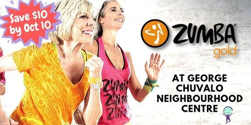 Zumba Gold - $12 drop in @ George Chuvalo N. C.