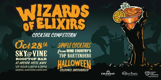 POSTPONED - Wizards of Elixirs Cocktail Competition - Date TBA