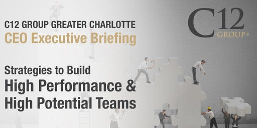 Building high performance & high potential teams