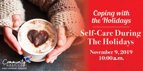 Coping with the Holidays: Self-Care During The Holidays tickets