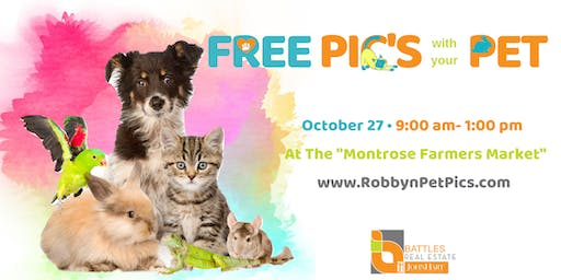 FREE Pictures with your Pets
