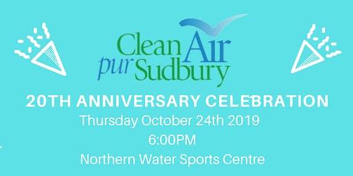 Clean Air Sudbury 20th Anniversary Celebration