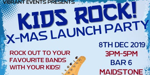 Vibrant Events presents: Kids Rock! X-mas launch party