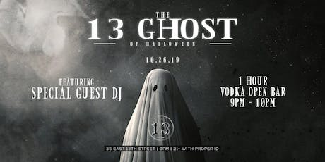 13 Ghosts of Halloween at Bar 13  tickets