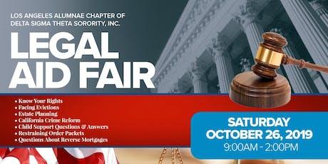 Delta Sigma Theta Legal Aid Fair tickets