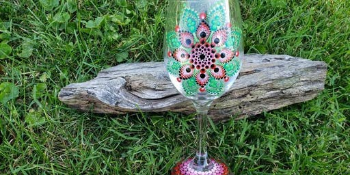 Darling Dots Wine Glass Workshop