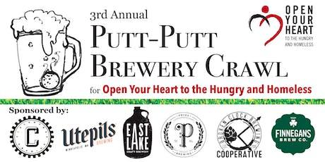 3rd Annual Putt-Putt Brewery Crawl tickets