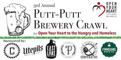 3rd Annual Putt-Putt Brewery Crawl