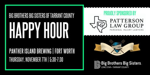 BBBS  Tarrant | Happy Hour at Panther Island Brewing