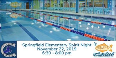 Springfield Elementary Goldfish Swim School