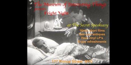 Museum of Interesting Things Spooky Secret Speakeasy Sun Oct 20th 6pm tickets