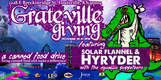 Grateville Giving: Hyryder & Solar Flannel