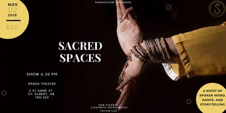 SACRED SPACES tickets