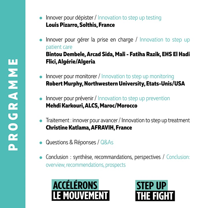 Image pour Innover pour avancer / Innovate to Step up the Fight