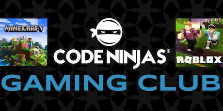 Code Ninjas East Cobb Gaming Club! tickets