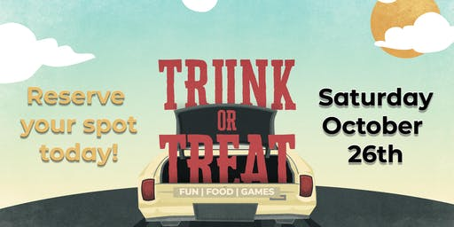 Trunk-or-Treat Space Reservation