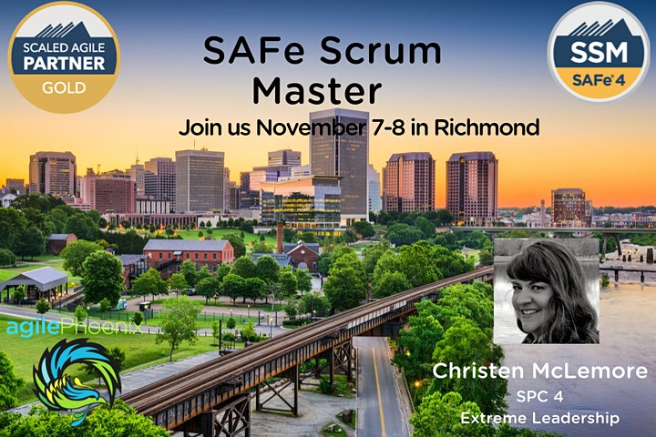 SAFe® 4 Scrum Master Certification- Confirmed to Run! image