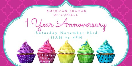 CBD & SPA Day: American Shaman of Coppell 1 Year Anniversary Bash tickets