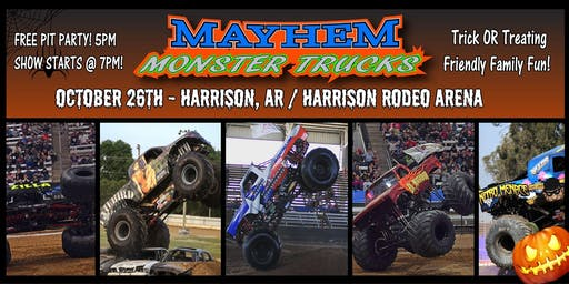 Harrison's Fall Mayhem Monster Truck Show