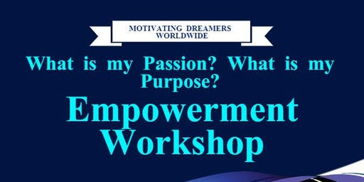 What is my passion? What is my purpose?