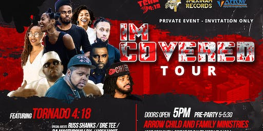 I'm Covered tour Private concert