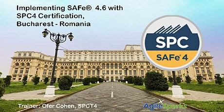 Implementing SAFe 4.6 w/ SPC Certification-Bucharest, Romania January 2020- Guaranteed to Run tickets