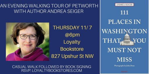 A Walking Tour of Petworth with Author Andrea Seiger