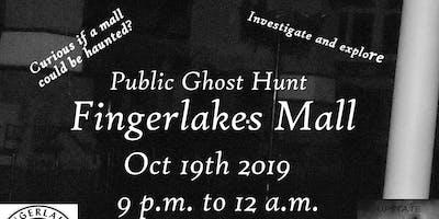 Haunted  Fingerlakes Mall - Ghost Hunt