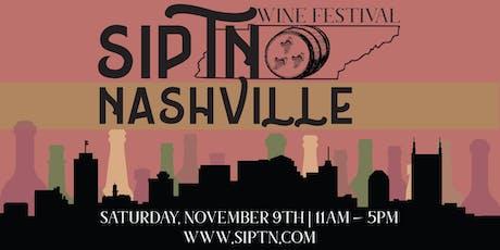 2019 SipTN Wine Festival tickets