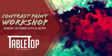 Contrast Paint Workshop tickets