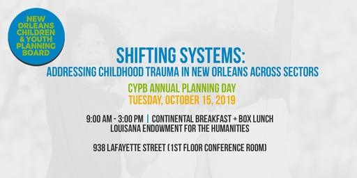 CYPB Annual Planning Day  Shifting Systems