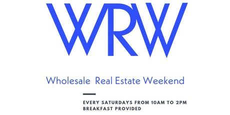 WHOLESALING REAL ESTATE WEEKEND tickets