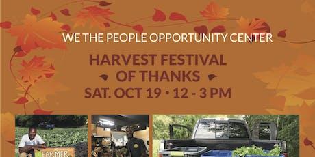 Harvest Festival of Thanks 2019 tickets