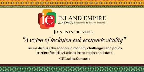 Inaugural Inland Empire Latino Economic Policy Summit tickets