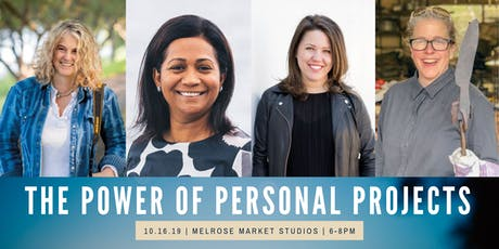 The Power of Personal Projects tickets