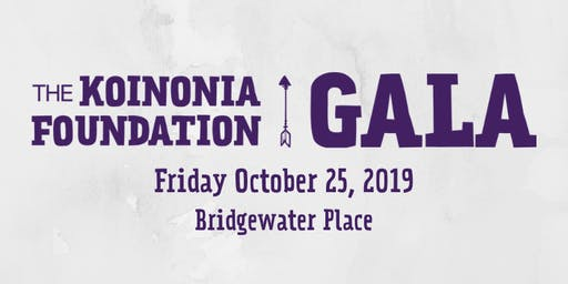 The Koinonia Foundation Gala 2019