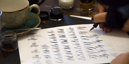 Modern Calligraphy Workshop at Reclamation Room