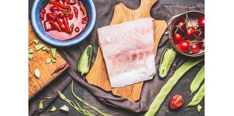 International Seafood: Chef Gaby (Berkeley) (2019-12-06 starts at 6:30 PM) tickets