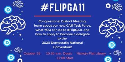 #FlipGA11 District Meeting and Delegate Selection Training