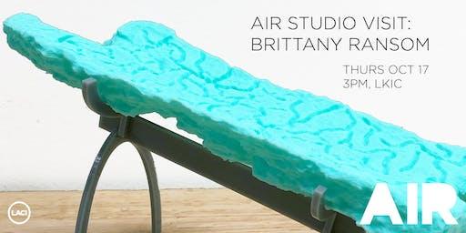 AIR Studio Visit: Brittany Ransom