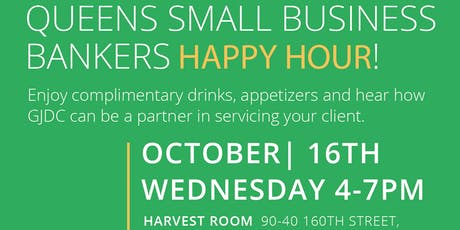 QUEENS SMALL BUSINESS BANKERS HAPPY HOUR tickets