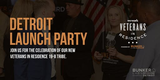 Detroit Launch Party: Veterans in Residence powered by Bunker Labs