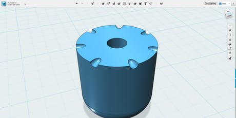Making a Keychain with Tinkercad tickets