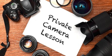 Private Photography and Camera Lessons - October tickets