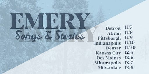 Emery: Songs and Stories @ Denver