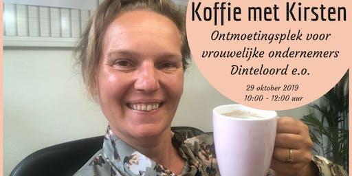Koffie met Kirsten (voor vrouwelijke ondernemers omgeving Dinteloord)