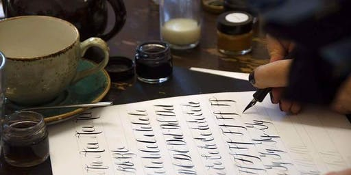 Christmas Calligraphy Workshop at Cass Art