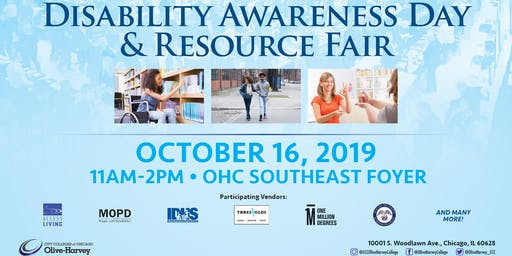 Olive-Harvey College Disability Awareness Day and Resource Fair
