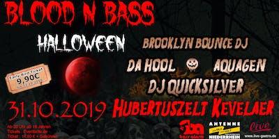 BLOOD N BASS - Halloween Party